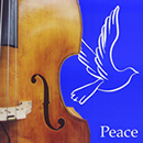 Jazz means peace logo